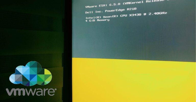 Instalacion VMWare ESXi