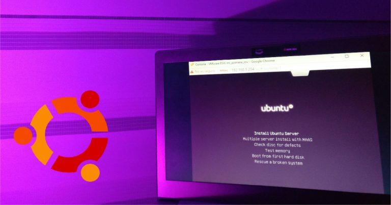 Configuración de Ubuntu en maquina virtual