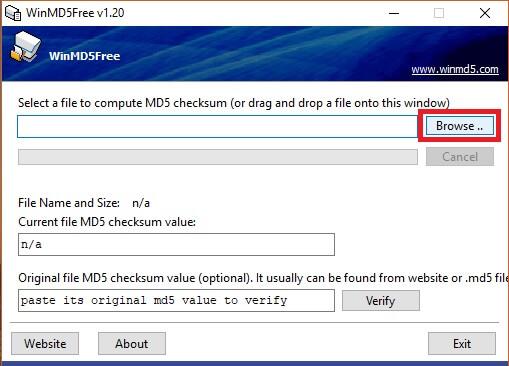 Calculo MD5 de un archivo en Windows - Alex Ariza