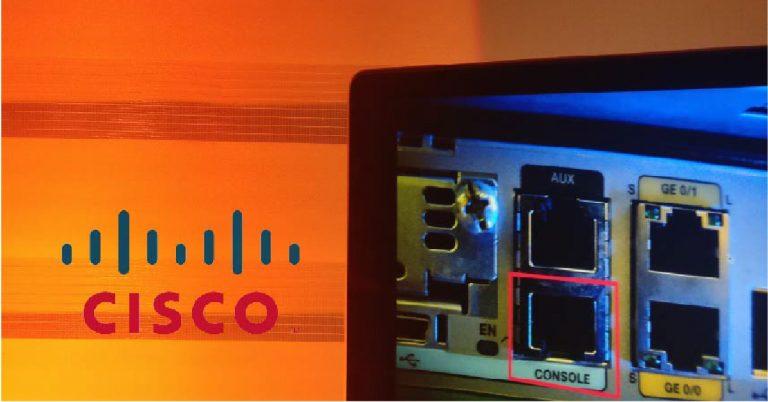 Conetarse a un Cisco por CONSOLE a través de otro Cisco por AUX