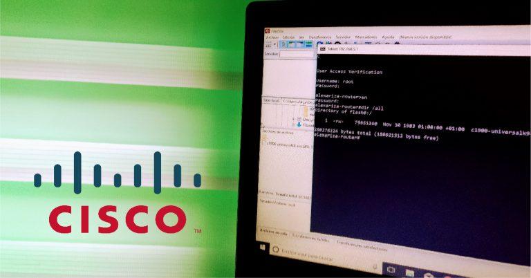 Transferencia y actualización de IOS Cisco desde un servidor FTP remoto