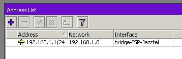 Guardar IP en Mikrotik